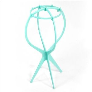 Foldable wig stand - Blue Color!!!